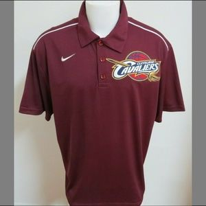 2XL Maroon Red Nike Mens Polyester #210T Polo